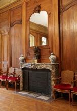 Salle du Conseil, la cheminée